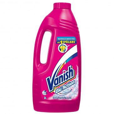 Solutie pentru indepartarea petelor VANISH Pink, 2L