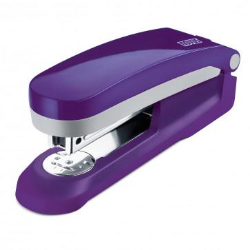 Capsator de birou, pentru maxim 25 coli, capse 24/6, violet, NOVUS E25 Fresh