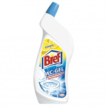 Dezinfectant toaleta BREF WC Gel Lemon, 750ml