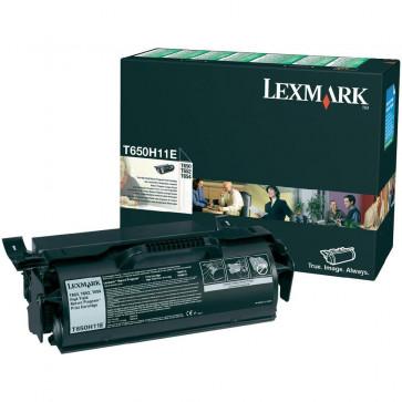 Toner, black, LEXMARK T650H11E