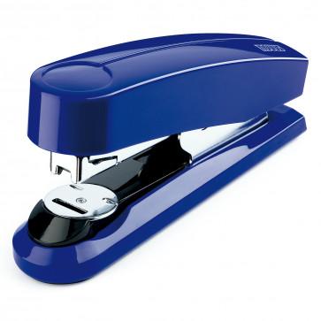 Capsator de birou metalic, pentru maxim 50 coli, capse 24/6, albastru, NOVUS B4FC