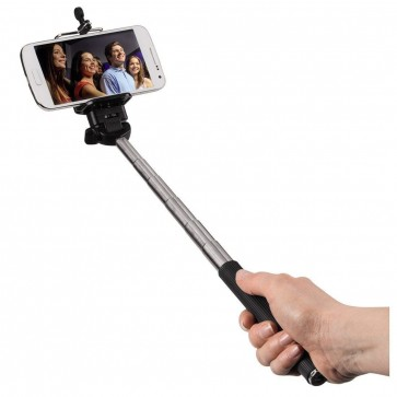 Selfie set, selfie stick + Bluetooth remote trigger, HAMA Moments 100