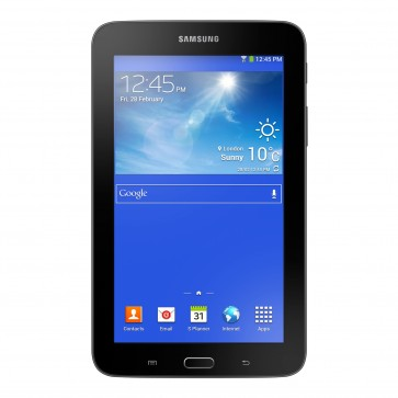 "Tableta SAMSUNG Galaxy Tab 3 Lite VE, Wi-Fi, 7.0"", Quad Core 1.3GHz, 8GB, 1GB, Android KitKat 4.4, negru"