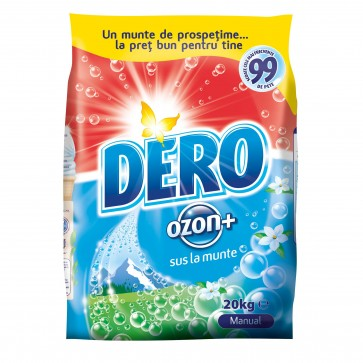 Detergent manual DERO Ozon Plus, 20 Kg