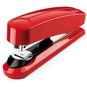 Capsator de birou, pentru maxim 30 coli, capse 24/6, rosu, NOVUS B3FC
