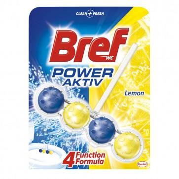 Odorizant pentru toaleta BREF Power Aktiv Lemon, 50g