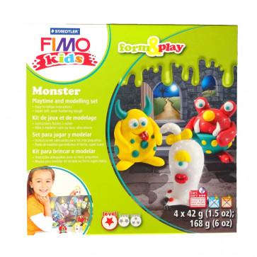 Set modelaj Fimo Kids - Form and Play - Monster, STAEDTLER