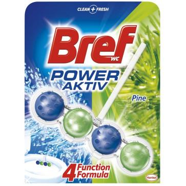 Odorizant pentru toaleta BREF Power Aktiv Pine, 50g