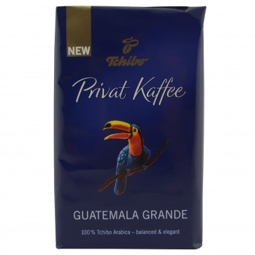 Cafea prajita si macinata, 250g, TCHIBO Guatemala Grande Privat kaffee