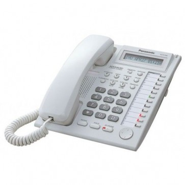Telefon digital proprietar PANASONIC KX-T7730CE, Secretariat, Alb