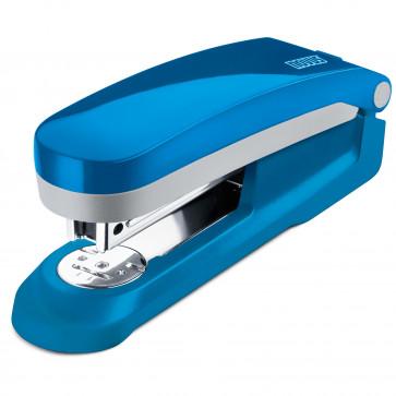 Capsator de birou, pentru maxim 25 coli, capse 24/6, albastru petrol, NOVUS E25 Fresh