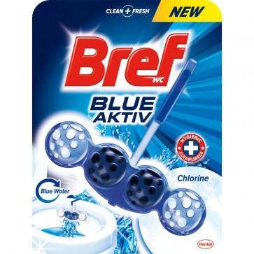 Odorizant pentru toaleta BREF Blue Aktiv Chlorine, 50g