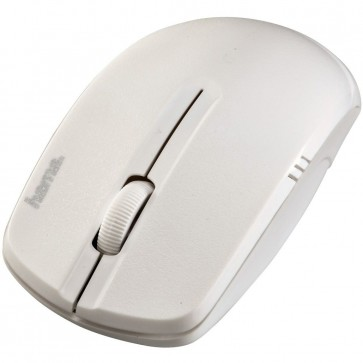 Mouse Wireless, 1200dpi, alb, HAMA AM-7500