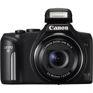 Camera foto digitala, negru, 16MP, CANON PowerShot SX170 IS