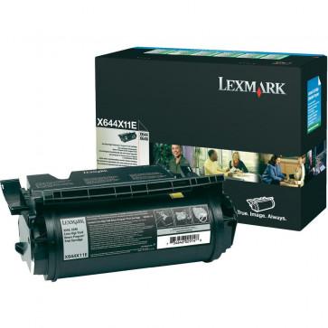 Toner, black, LEXMARK X644X11E