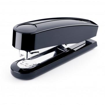 Capsator de birou metalic, pentru maxim 40 coli, capse 24/6, negru, NOVUS B4