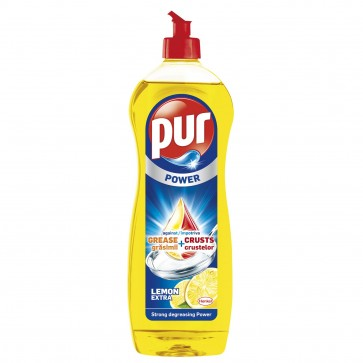 Detergent de vase PUR Duo Power Lemon, 900ml