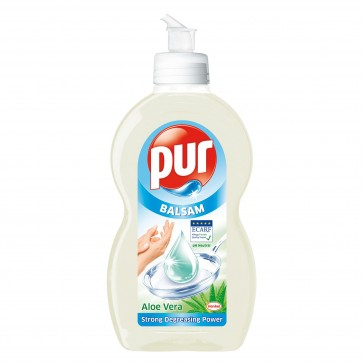 Detergent de vase PUR Balsam Aloe Vera, 450ml