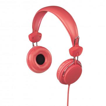 Casti audio, rosu, HAMA Joy