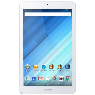 "Tableta Acer Iconia One 8, B1-850-K2FD, 8"" IPS MultiTouch, Procesor MediaTek MT8163 1.30Ghz Quad Core, 1GB RAM, 16 GB flash, Wi-Fi, Android 5.1, White"