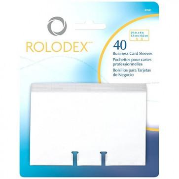 Rezerva 40 file carti de vizita, ROLODEX 67691