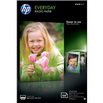 Hartie foto HP Everyday lucioasa, 10 x 15cm, 100 coli