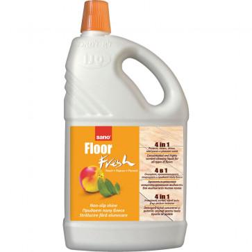 Detergent concentrat pentru pardoseli, 2 L, SANO Floor Fresh Peach