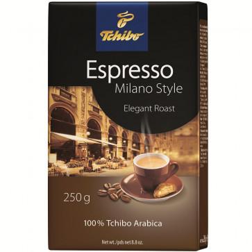 Cafea prajita si macinata, 250g, TCHIBO Espresso Milano Style