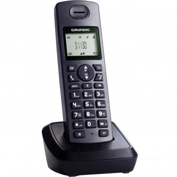 Telefon DECT GRUNDIG D1130, negru, fara fir