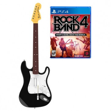 Rock Band 4 - Fender Stratocaster Guitar Software Bundle PS4