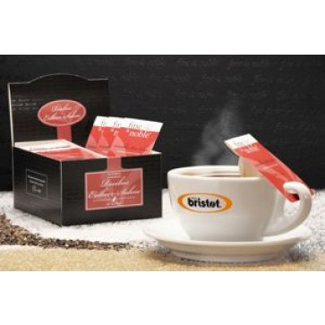 Ceai plic, 20 plicuri/cutie, rooibos cu aroma de capsuni, BRISTOT