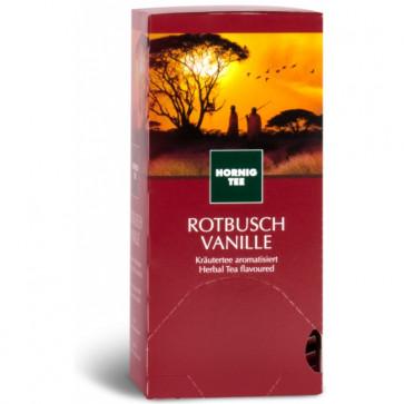Ceai Roiboos cu vanilie, 25 plicuri/cutie, J. HORNIG