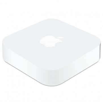 Router wireless APPLE Airport Express Base Station mc414Z/A, Dual-Band, LAN, WAN, USB, alb