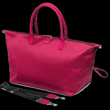 Geanta de umar dama, roz, material textil, FEDON Sofia Sf-Duffle