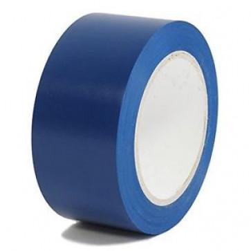 Banda adeziva de marcare, solvent, PVC, 50mm x 33m, albastru, VIBAC