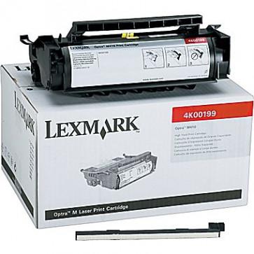 Toner, black, LEXMARK 4K00199