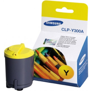 Toner, yellow, SAMSUNG CLPY300ASEE