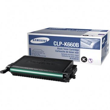 Toner, black, SAMSUNG CLP-K660B