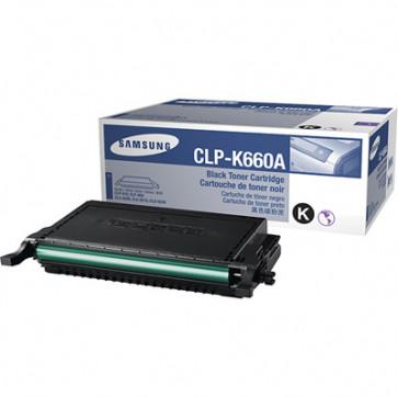 Toner, black, SAMSUNG CLP-K660A