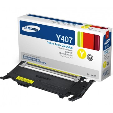 Toner, yellow, SAMSUNG CLT-Y4072S