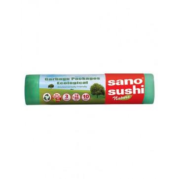Saci menaj, 78 x 90cm, 10 buc/rola, SANO Sushi Eco