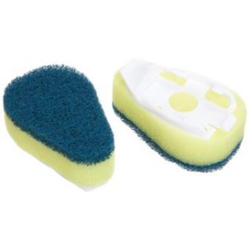 Rezerva burete cu rezervor pentru detergent, 2 buc/set, SCOTCH-BRITE Click&Clean