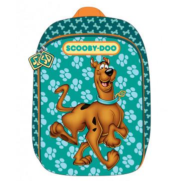 Ghiozdan, clasele 1-4, 1 fermoar, verde inchis, PIGNA Scooby Doo 3D