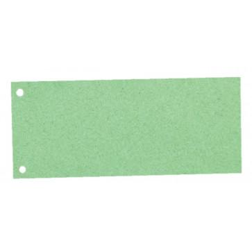 Separatoare din carton, cu 2 perforatii, 100 buc.set, A4, verde, Esselte