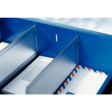 Separator tavite documente, fumuriu, 2 buc/set, LEITZ Sorty