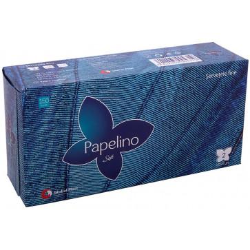 Servetele, 2 straturi, 20 x 20cm, alb, 150 buc./cutie, PAPELIONO Soft