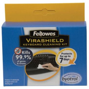 Set pentru curatare tastatura, FELLOWES Virashield