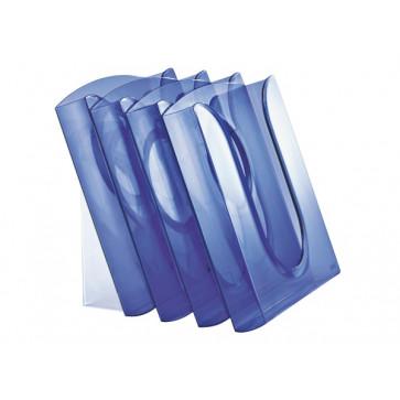 Set 4 tavite documente + stativ, albastru, LEITZ Presenter
