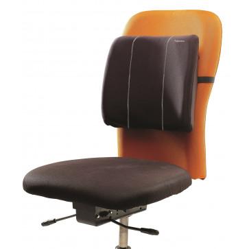 Suport ergonomic pentru spate, negru, FELLOWES Slimline