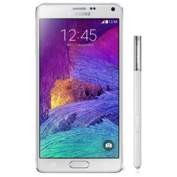 "SAMSUNG Galaxy Note 4, 5.7"", 16MP, 3GB RAM, 4G, Wi-Fi, White"